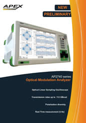 Optical Linear Sampling Oscilloscope