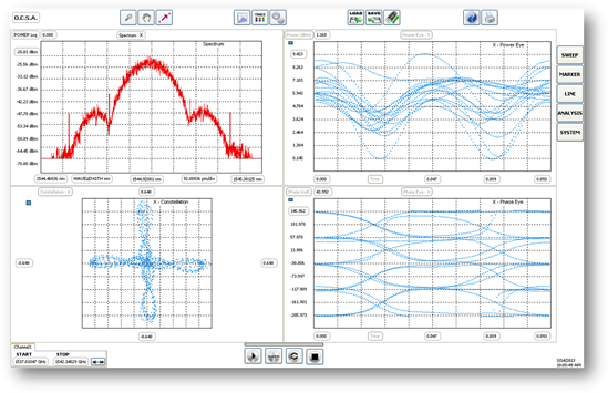 Optical Complex Spectrum Analyzer Software