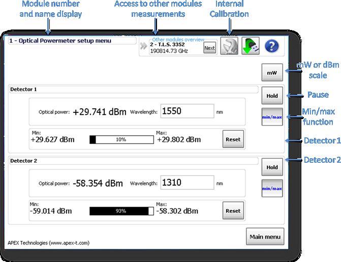 Optical Power Meter Software