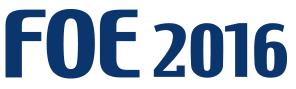 FOE 2016 logo